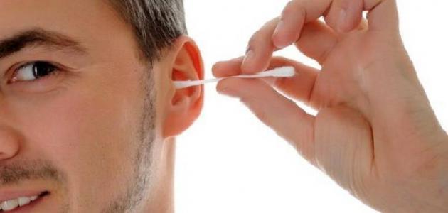 طريقة تنظيف الأذن من الشمع