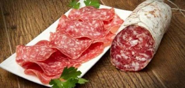 استخدامات لحم الببروني
