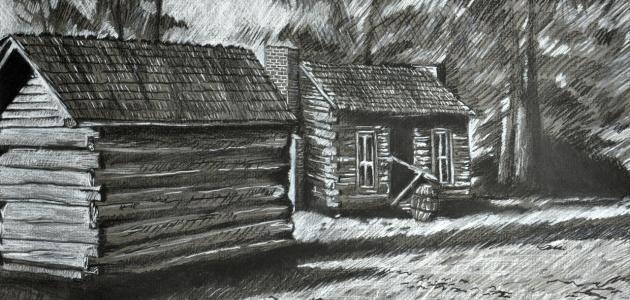 خطوات الرسم بالفحم