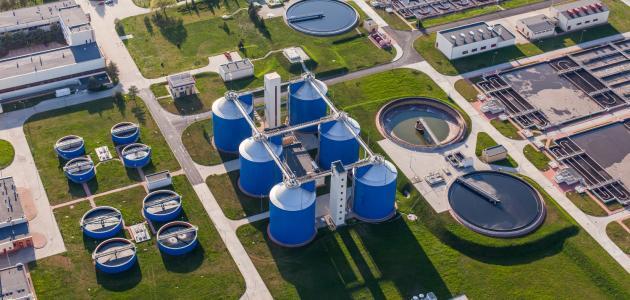 مراحل معالجة مياه الشرب