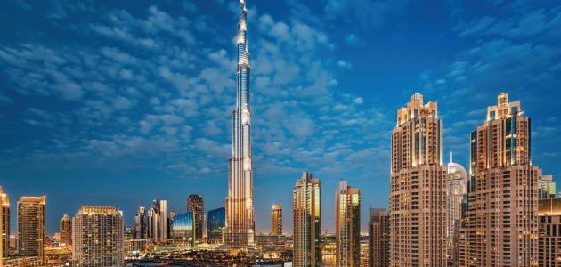 معلومات عن برج خليفة سطور