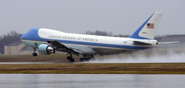 مزايا طائرة الرئاسة الأمريكية