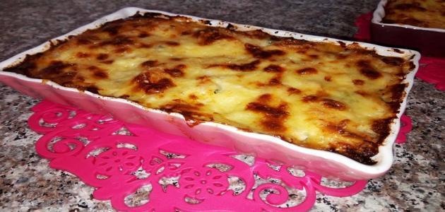 طريقة عمل طاجين الجبن