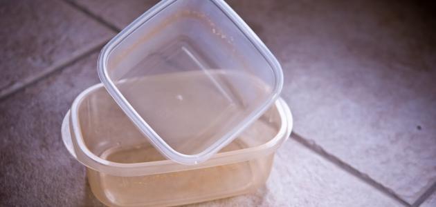 إزالة الخدوش من البلاستيك