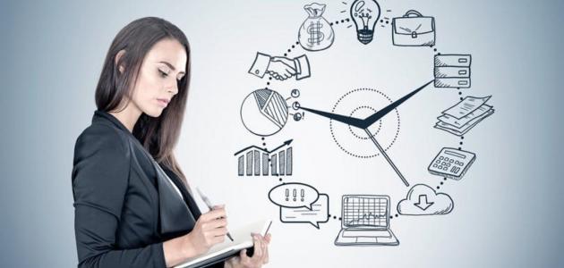 خطوات تنظيم الوقت للمرأة العاملة