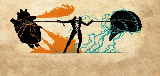 العلاقة بين العقل والقلب