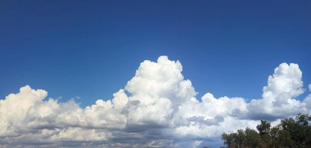 كيفية تشكل الغيوم