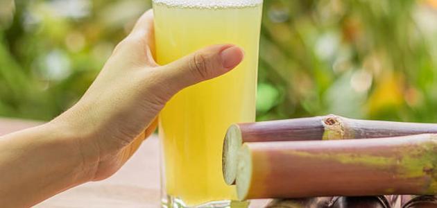 فوائد عصير القصب للحامل