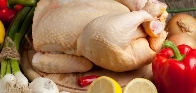 طريقة تنظيف الدجاج