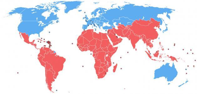 معلومات عن دول الجنوب
