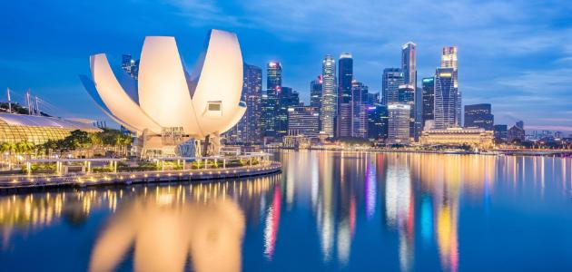 الأماكن السياحية في سنغافورة