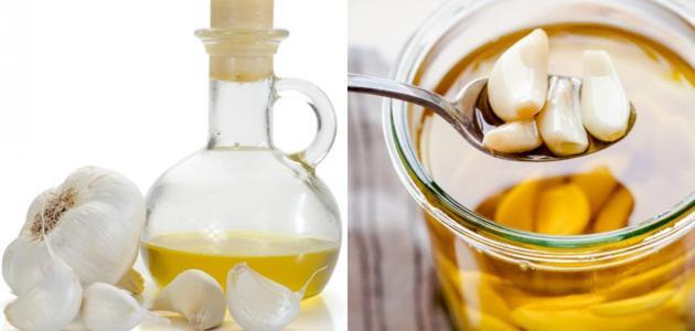 فوائد زيت الزيتون والثوم للشعر