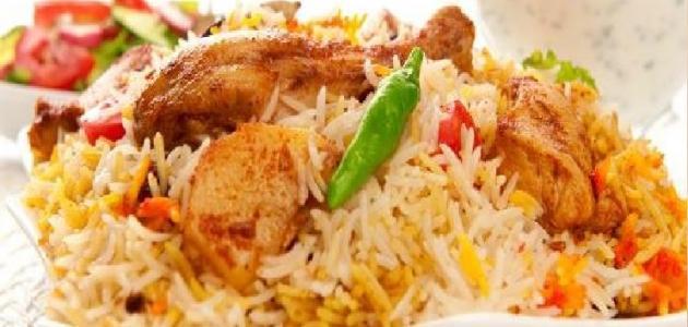 طريقة عمل الأرز الملون