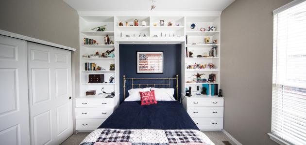 كيفية ترتيب غرفة النوم الصغيرة