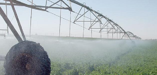 تعريف الزراعة المطرية