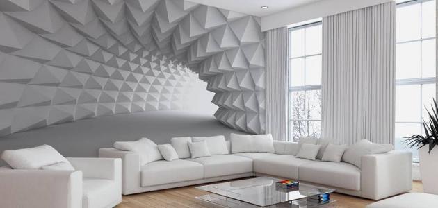 أنواع ورق الجدران