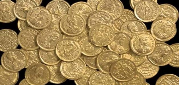علامات الذهب الروماني