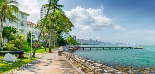 الأماكن السياحية في جزيرة بينانج
