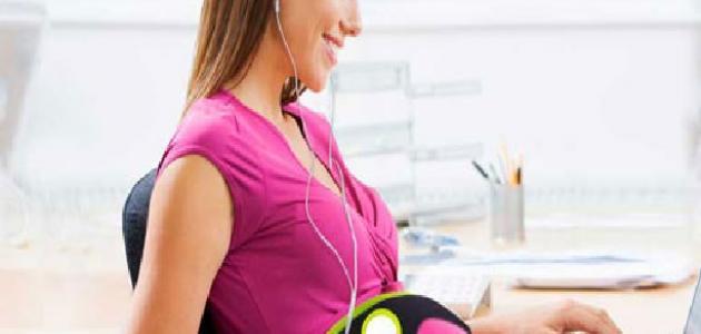 تأثير الموسيقى على الجنين