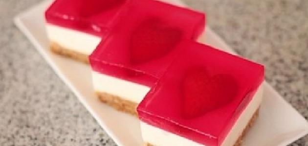 طريقة عمل طبقات الجلي و الكاسترد