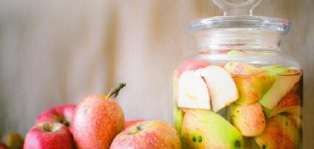 علاج الدوالي بخل التفاح
