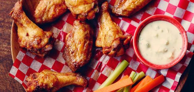 طريقة جوانح الدجاج
