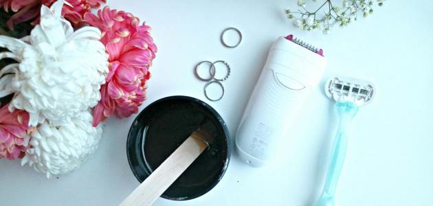 كيفية إزالة شعر المؤخرة