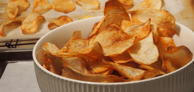 طريقة عمل شيبس البطاطا