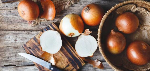 كيفية تقطيع البصل بدون دموع