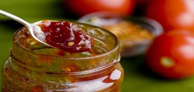 طريقة عمل مربى الطماطم