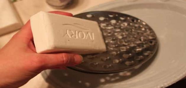 طريقة عمل صابونة النشا