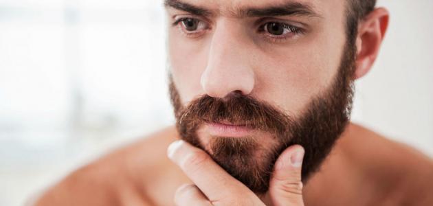 طريقة تكثيف شعر اللحية بالثوم