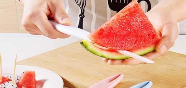 فوائد قشر البطيخ لتخسيس الوزن