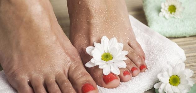 خطوات علاج أكزيما القدمين