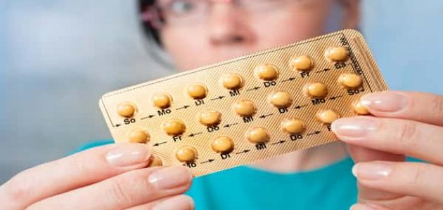 أعراض تناول حبوب منع الحمل
