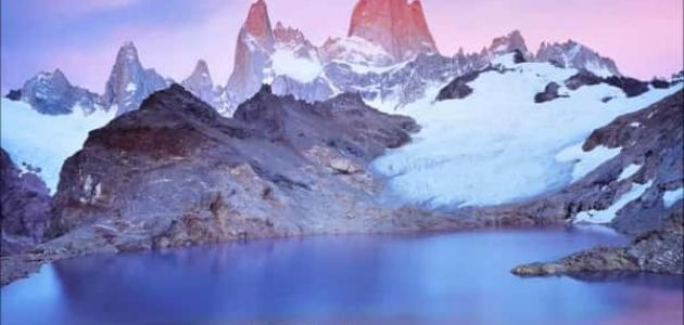 أين تقع جبال الأنديز