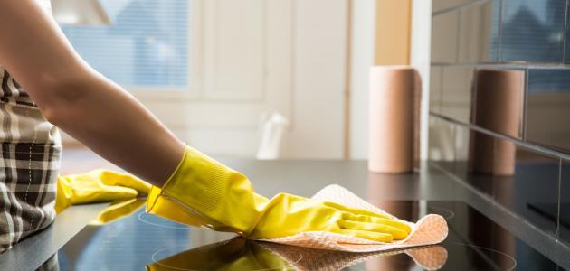 كيفية تنظيف المطبخ من الدهون