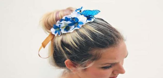 طريقة عمل ربطات شعر