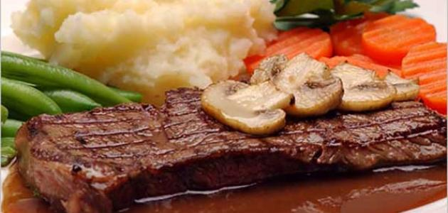 طريقة عمل ستيك اللحم بالصوص