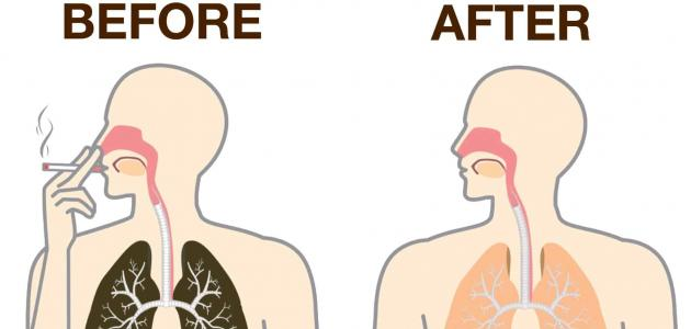 طريقة تنظيف الجسم من النيكوتين
