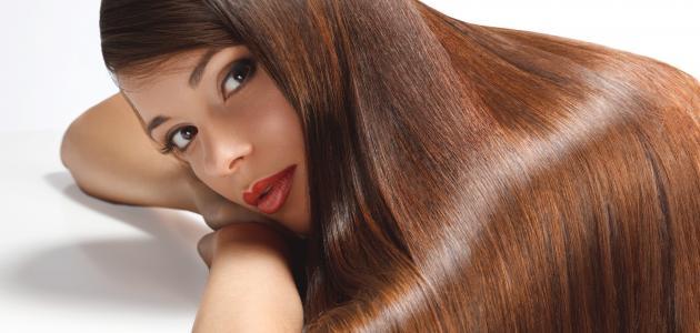 طريقة سحب اللون من الشعر سطور