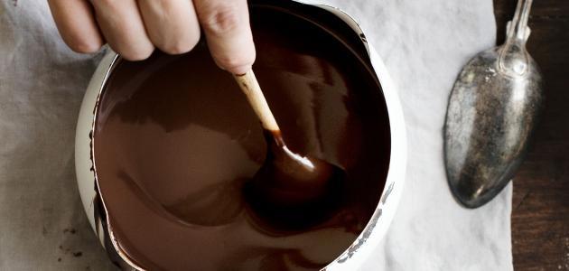 كيف نحضر صوص شوكولاتة سهل وسريع