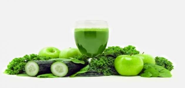 رجيم العصير الأخضر
