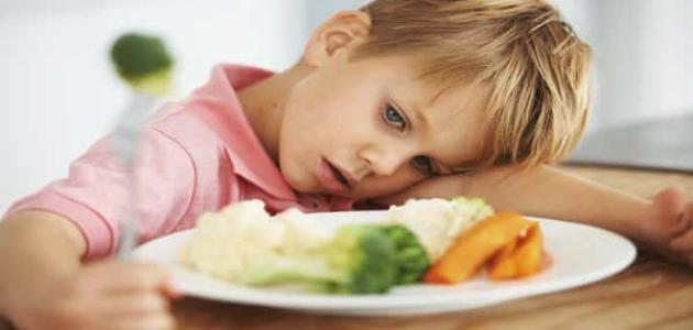 فقدان الشهية عند الأطفال أسبابه وعلاجه