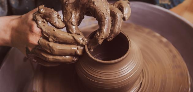 كيفية صناعة الفخار