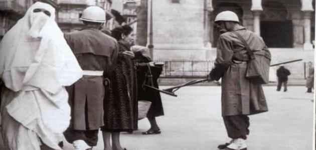 أسباب اندلاع الثورة الجزائرية