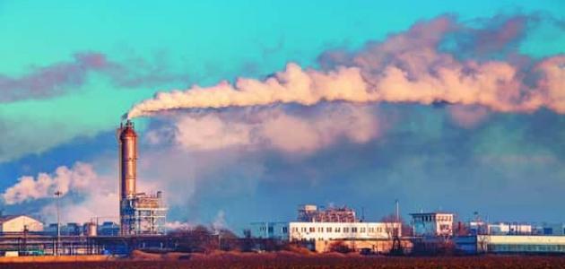 موضوع تعبير عن تلوث الهواء سطور