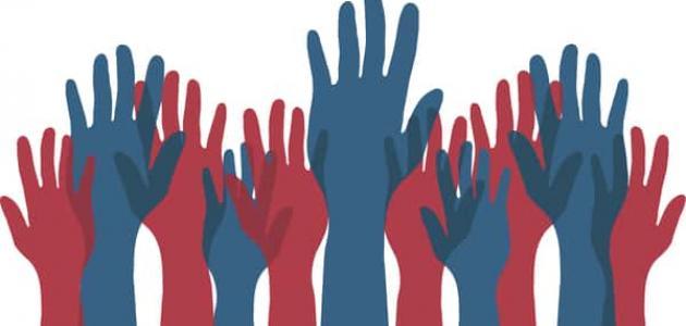 أنواع الديمقراطية