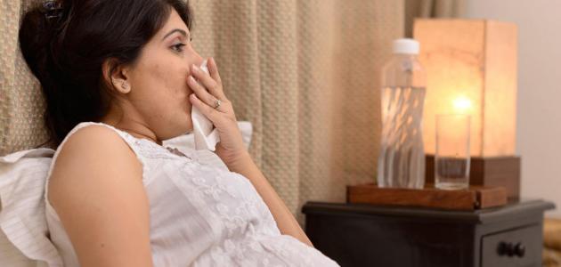علاج الكحة للحامل في الشهور الأولى
