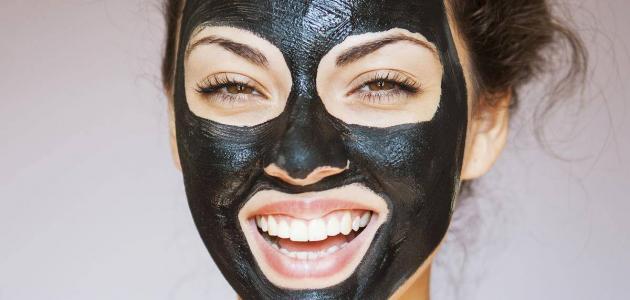 ماسك الفحم للرؤوس السوداء